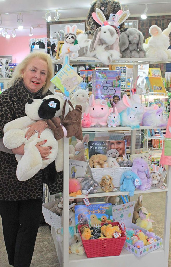 Karyn with Plush Baby Animals